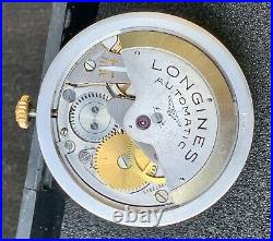 Complete movement Longines 290, original dial hands and crown. Working spare parts