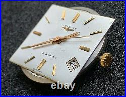 Complete movement Longines cal 345, original dial hands and crown. Working parts