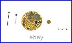 Corum ETA ESA 959 001 Six Jewel Quartz 959.001 Movement & Hands FOR PARTS