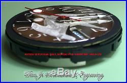 Custom Hand Engraved Seiko SKX007/9 7S26 0020 Dial Ron Jr. Scrimshaw & Engraving