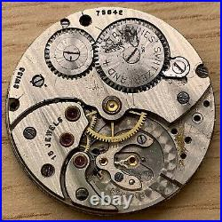 Cyma 576 Hand Manuale 33,8mm No Funziona For Parts Watch Swiss Vintage