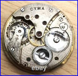 Cyma Extra 763 Doesn'T Works For Parts Pocket Watch Hand Manual 42,8mm Pocket