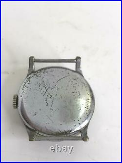 Cyma Watch Old Military Mechanical Hand Watch As-is Dosen't Work Fro Parts