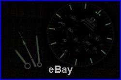 Dial + Hands for 1990s Omega Speedmaster cal. 861 1861 ref. ST145.022 3590.50.00