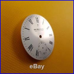 Eberhard 40mm dial for Eta 6498, plus swiss hands