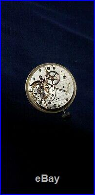 Eberhard Valjoux 90 Moonphase Complete Movement, Dial & Hands Running Great