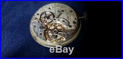 Eberhard Valjoux 90 Triple date Moonphase Movement, Dial & Hands Running Great