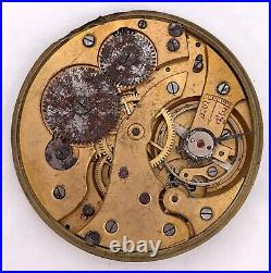 Election Vintage Pocket Watch Hand Manual Winding Pocket For Parts 42 MM 3WC