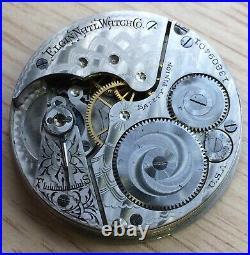 Elgin NAtl Pocket Watch Hand Manual 43 mm NO Funciona For Parts Bolsillo