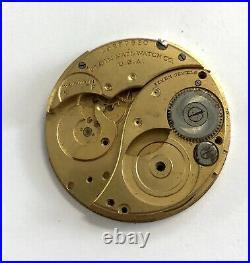 Elgin bolsillo hand manual pocket watch movement for parts 40 mm no funciona 3WC