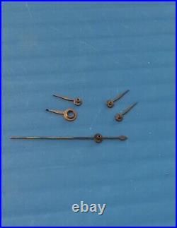 Eterna matic 1948 original parts hands 1 set triple date, valjoux 7751