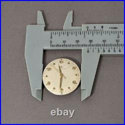 Eternamatic automatic watch Movement Dial Hands parts, 1247TC 17 Jewel Swiss