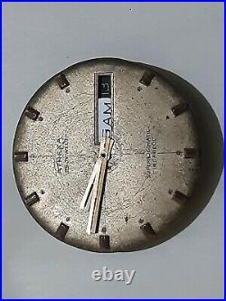 Felsa 4033 Automatic Ardath Hand Wind Watch Movement Swiss Balance Ok For Parts