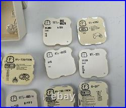 Felsa F 390 690 720 962 4024 Watch Parts Lot new old stock hands wheel lever