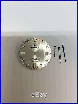 Genuine Tudor Prince Oysterdate Rotor Self-winding Silver Dial And Hands