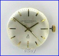 GIRARD PERREGAUX Chronometer movement handwinding, dial & hands. NOS Swiss Made