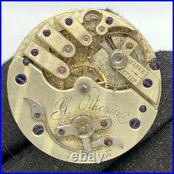 G Othenine Genève 5628 Hand Manuale Vintage 31,2 MM No Funziona For Parts