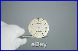 Gen Rolex DateJust 2Tone Silver Dial Hands Pie Pan Non Quickset Slow Set 1601