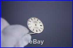 Gen Rolex DateJust Silver Dial + Hands Pie Pan Non Quickset Slow Set 1601