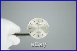 Gen Rolex DateJust Silver Dial Hands Quickset 3035 3135 16014 16030 16234 16000