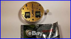 Genuine Eta Movement 251.252, automatic with 5 hands no dial, digital and analog
