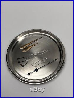 Genuine Le Coultre Case Dial Hand Set Chronograph Bridge