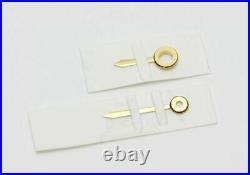 Genuine New Cartier Mast Tank SM Hands Gold Ladies Watch Parts