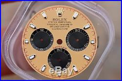 Genuine OEM Rolex Daytona Paul Newman Dial Factory 116528/116523/116518 with Hands