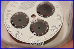 Genuine OEM Rolex Daytona Racing Panda Dial Factory 116520/116509/116529 Hands