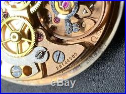 Genuine Omega 930 movement Dial + Hands Repair Project Working 146.017