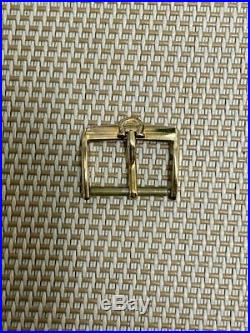 Genuine Omega Buckle Gold Watch Parts 16mm 2nd Hand e443385304