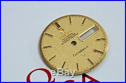 Genuine Omega Constellation 18k Solid Gold Dial & Matching Omega Hands