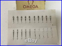 Genuine Omega Hr/Min Dauphine Hands to Fit Cal. 30t2, 265-269