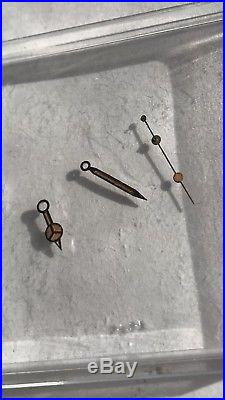 Genuine ROLEX Submariner Tritium Hands 16800 16610 3035 3135 Original Vintage