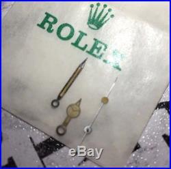 Genuine ROLEX Submariner Tritium Hands 16800 3035 Original Vintage