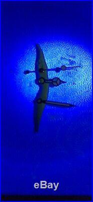 Genuine Rolex 1665 5513 1675 1680 Submariner Triti Hands Silver Vintage Parts