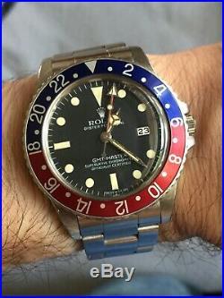 Genuine Rolex 16750 GMT Hands withpatina