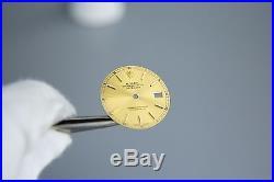 Genuine Rolex 2Tone DateJust Champagne Dial Hands Quickset 3035 3135 16013 16233