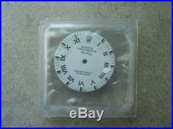 Genuine Rolex Air-King White Roman Dial + Hands 114200 114210 original authentic