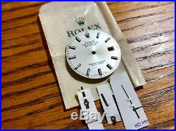 Genuine Rolex Date Just 36 MM 116234 Silver Dia & hands Authentic datejust