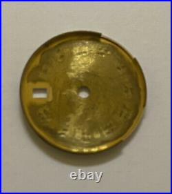 Genuine Rolex Date just Roman Numeral Dial & Hands Watch Parts 13 / 69178 S 23