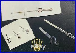 Genuine Rolex Daytona Cosmograph 6263,6265,6239-40 Tritium Set of 6 Hand Vintage
