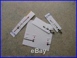 Genuine Rolex Daytona Red Racing Hands Set WG 116509 116519 116520 Original