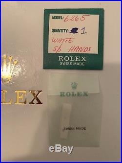 Genuine Rolex Daytona Second Hand 6263 6265 6239 6240 6241 Big Red Vintage NOS