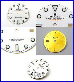 Genuine Rolex Explorer II 42mm Gloss White Watch Dial for 216570 Orange Hand