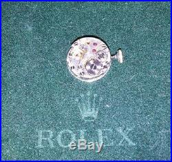 Genuine Rolex Ladies 1400 Movement with Gold Crown & Hands Great Condition 17J