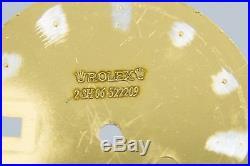 Genuine Rolex Luminova Dial Hands 2Tone Blue Submariner 16613 16803 16618 3135