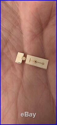 Genuine Rolex Radium Big Lollipop Vintage GILT Second Hand 6538 1016 6610 7928