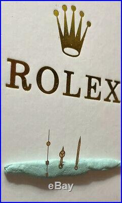 Genuine Rolex Submariner 5510 1016 1675 5512 Tritium Long Point Minute Hand 6536