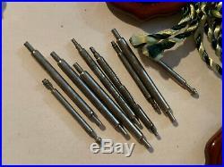 Genuine Rolex Submariner/GMT Master Insert Crystal Hands Authentic Rolex Parts